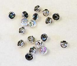 Crystalett Black Diamond Rhodium finish