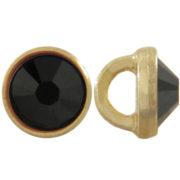 crystalett - 3mm-Jet-Gold