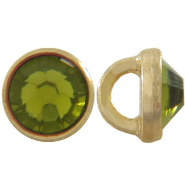 Crystalett-Olivine-AB-Gold