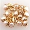 Crystalette - 5mm -White Pearl Gold