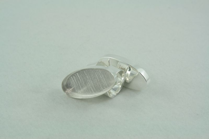 Ring adjustable - oval