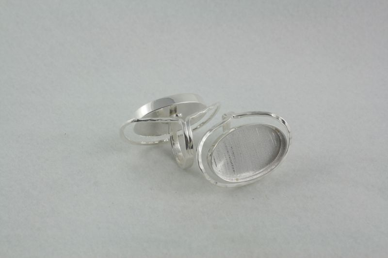 Ring Semi Adjustable oval