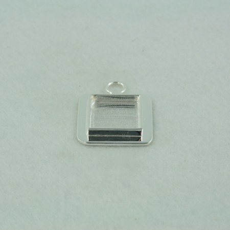 square bezel loop bail