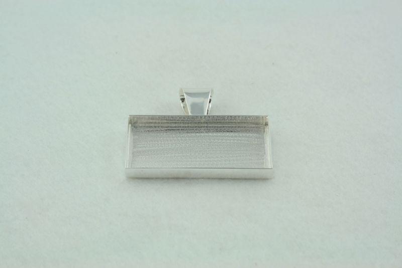 Rectangle deep welled pendant