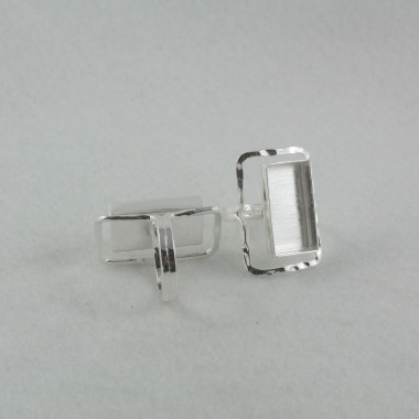 Ring semi -adjustable rectangle