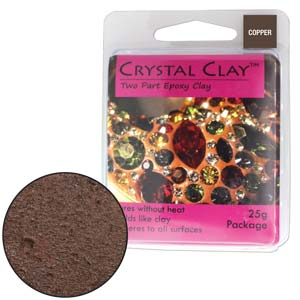 Copper Crystal Clay
