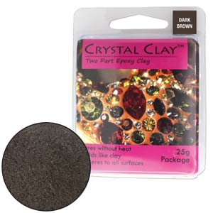 Dark Brown Crystal Clay