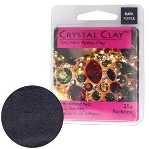 Dark Purple Crystal Clay