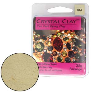 Gold Crystal Clay
