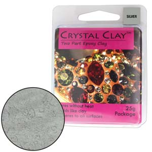 Silver Crystal Clay