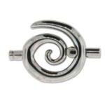 Large Spiral Toggle - Black Oxide 3.2mm