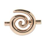Large Spiral Toggle - Copper 3.2mm