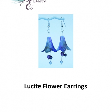 Lucite Earring Kit
