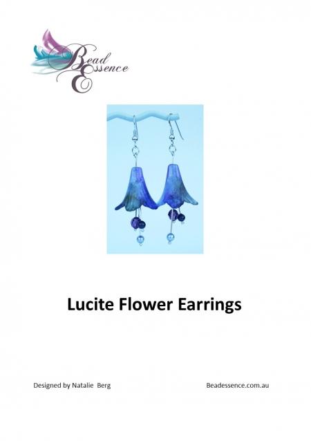 Lucite Earring Kit