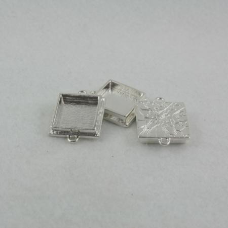traditional square pendant