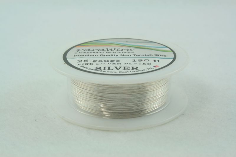 Parawire 26g Silver