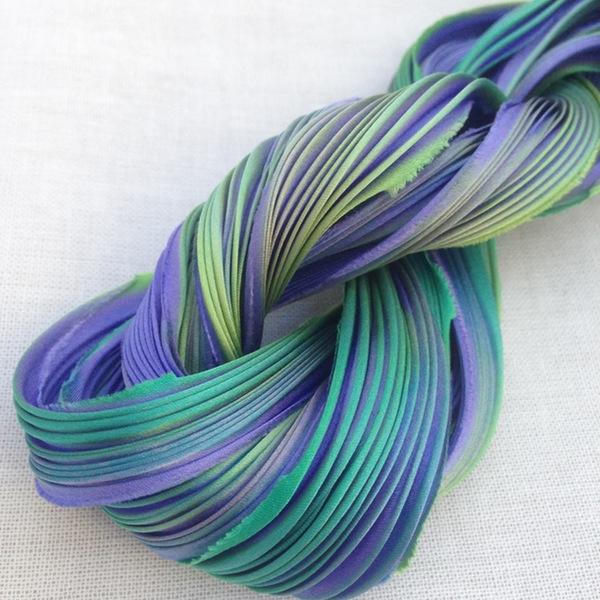 Shibori Silk - Saphira