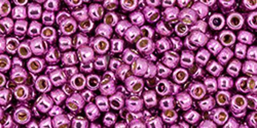 Japanese 11 0 Seed Beads Permanent Finish Galvanised Magenta