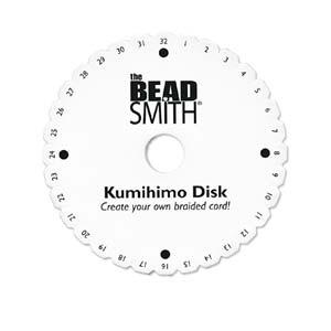 """Kumihimo disk - 6"""" 10mm"""