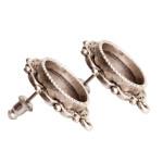 ornate earring - post