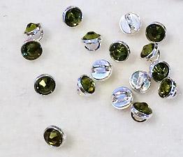 Crystalett-Olivine-Siilver-Rhodium