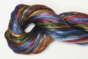 hand dyed braid - tapestry