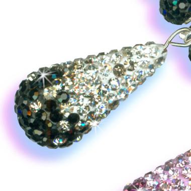 Teardrop Pavé Beads