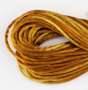 Hand Dyed Braid - Tobacco Leaves